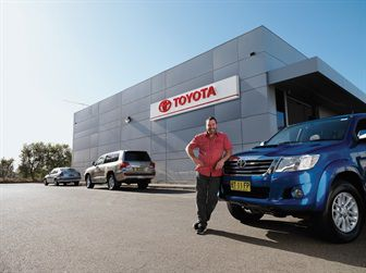 Vehicle Servicing at Geraldton Toyota